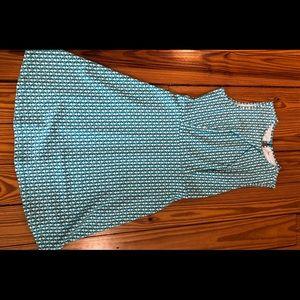 NY and Co. Teal Dress